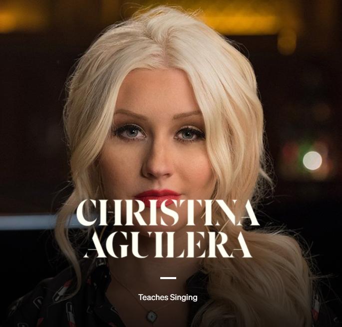 MasterClass Christina Aguilera